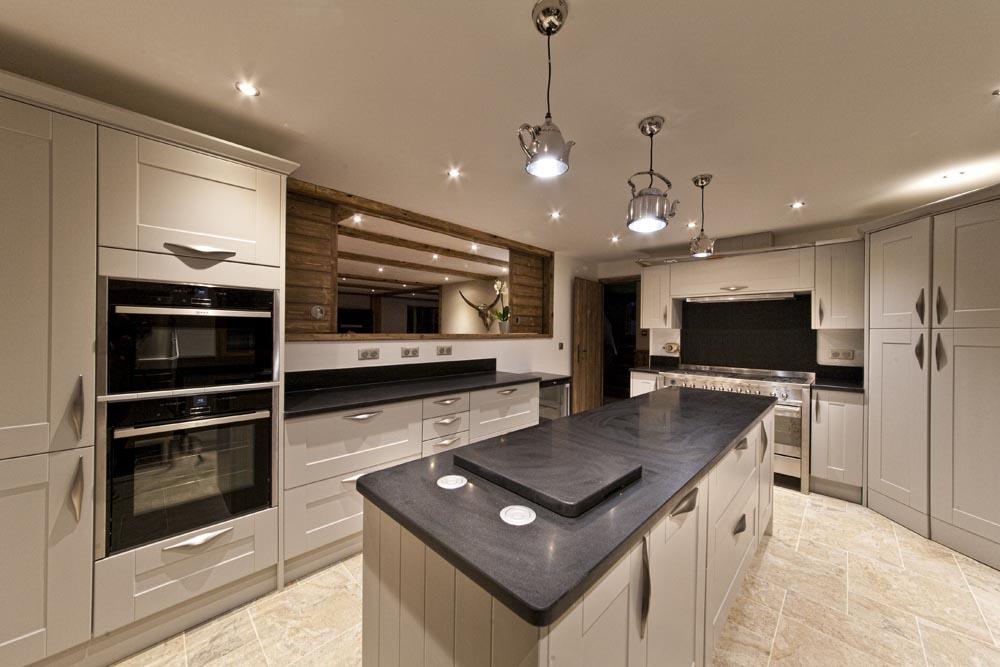 Interior design for kitchen chalets Morzine