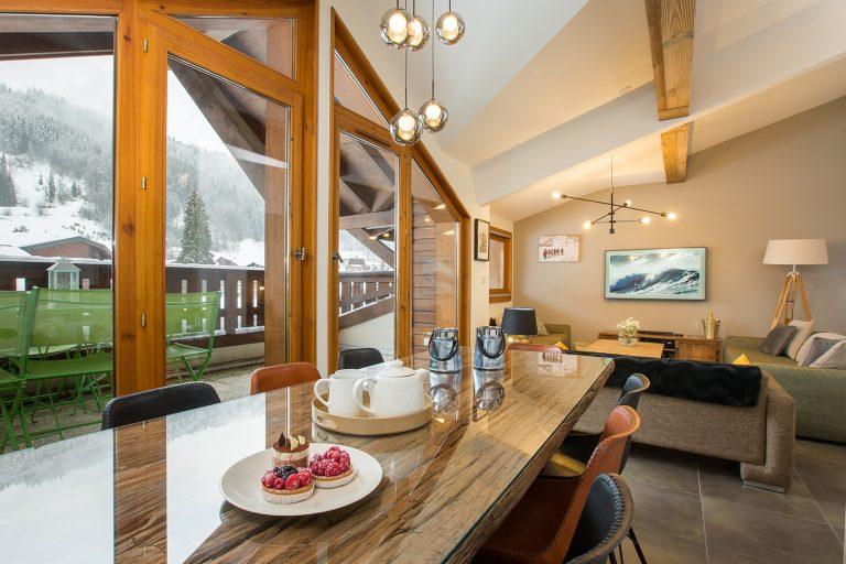 ski apartment design Morzine