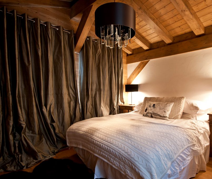 Interior Designer Lighting for ski chalets Morzine and Les Gets
